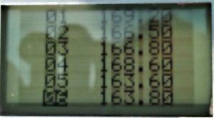 Chrony Ergebnisse Weihrauch HW35 original Teil 1