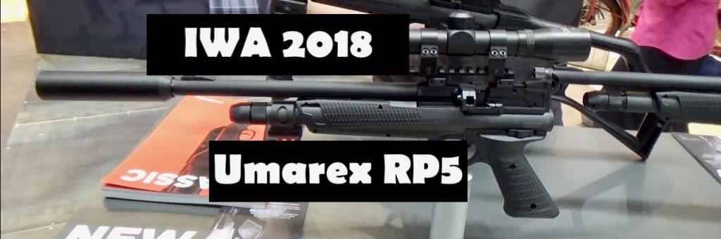 Umarex RP5 Luftgewehr auf der IWA 2018