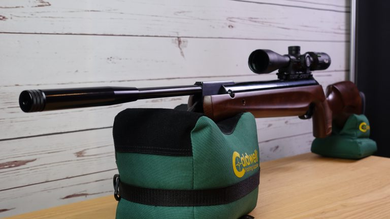 Walther LGV Master Pro auf Caldwell Cadcu