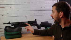 AirGhandi mit Weihrauch HW110 Carbine Sondermodell