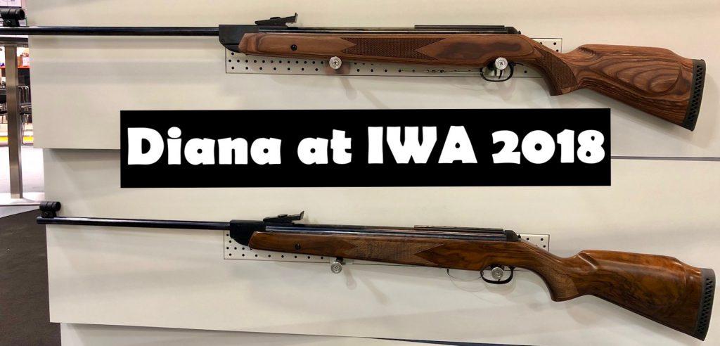 Diana Federdruck Luftgewehr auf der IWA 2018