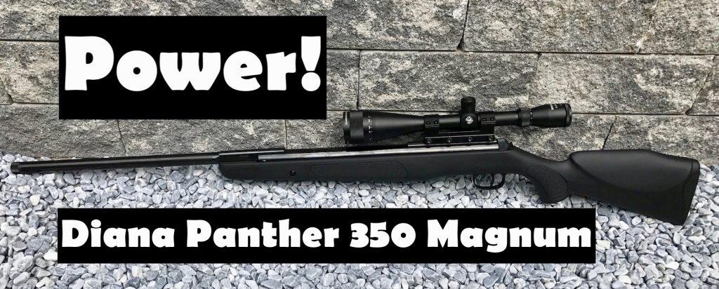 Diana 350 Magnum Panther mit Zielfernrohr