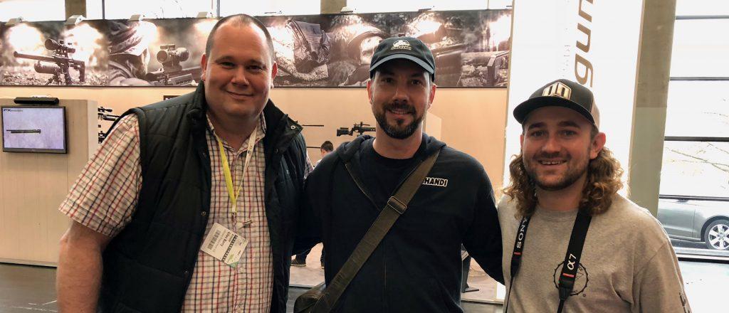 AirGhandi mit Giles Barry und Matt Dubber auf der IWA 2018