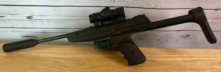 Diana LP8 Magnum Tactical Luftpistole mit Rotpunkt