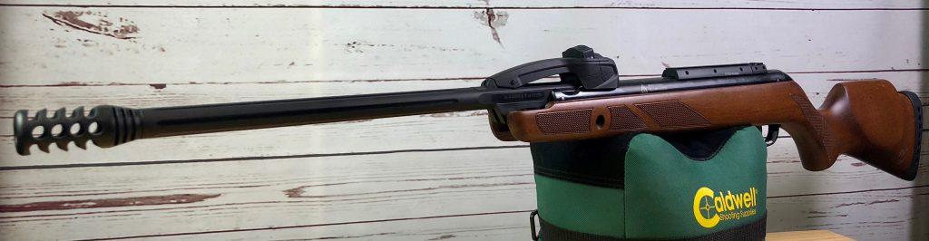 Gamo Fast Shot IGT auf Caldwell Cadcu Gewehrunterlage