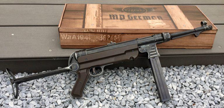 Umarex Legends MP40 Maschinenpistole mit Verpackung