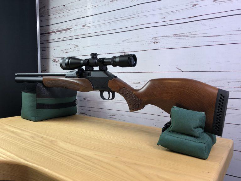 Diana P1000 Evo 2 auf Caldwell Cadcu mit Bullseye Zielfernrohr