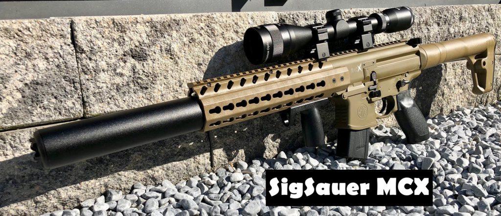 SigSauer MCX mit Zielfernrohr