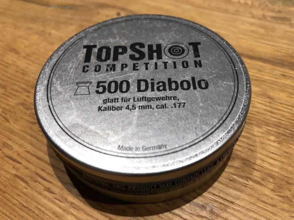 TopShot Competition Diabolos Dose 500 Stück