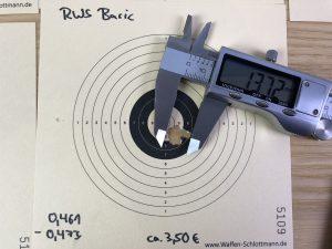 RWS Basic Streukreis geschossen