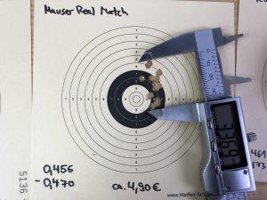 Streukreis Mauser Real Match Diabolos