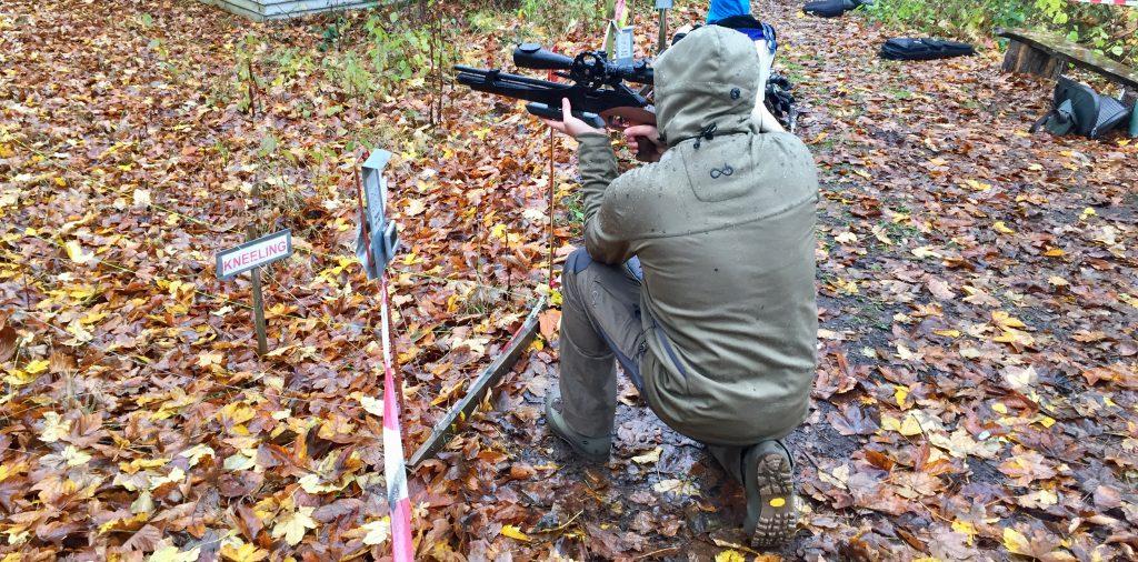 AirGhandi mit Steyr LG110 HFT Hunting beim Field Target in Ebern
