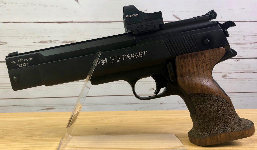 Weihrauch HW75 mit Red Dot Waffen Schlottmann