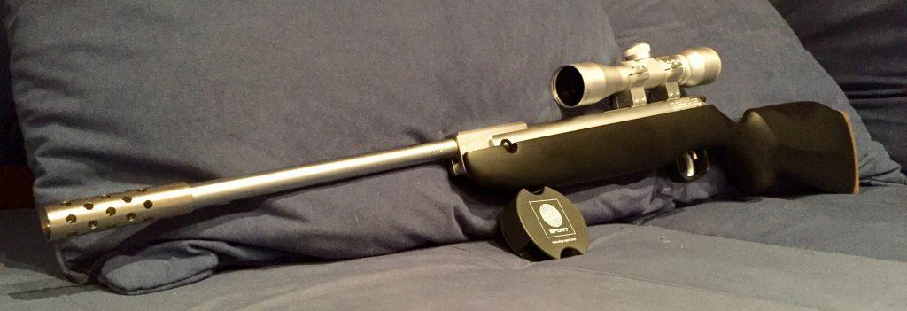 Weihrauch HW30S nickel mit silbernem Zielfernrohr