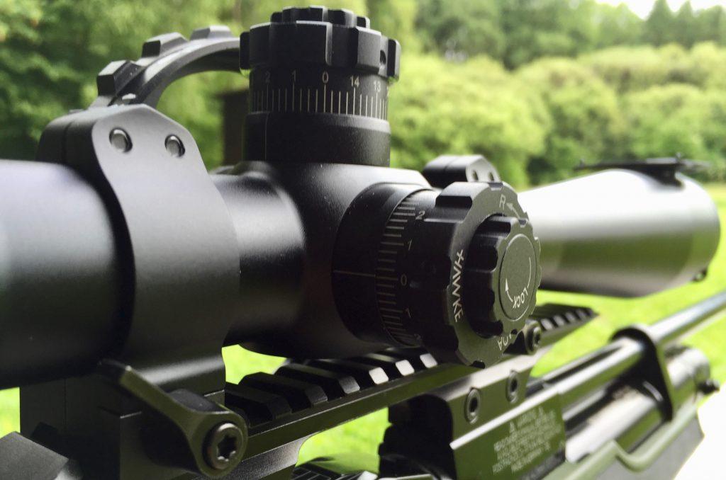 Hawke Airmax 8-32x50 SF Zielfernrohr