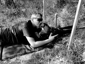 Andreas beim hunter Field Target
