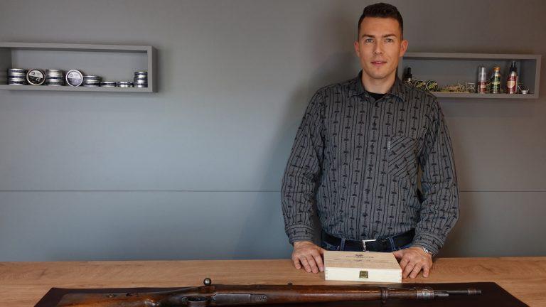 Adrian Ostermayer mit Ostermayer Waffen Restaurations Set