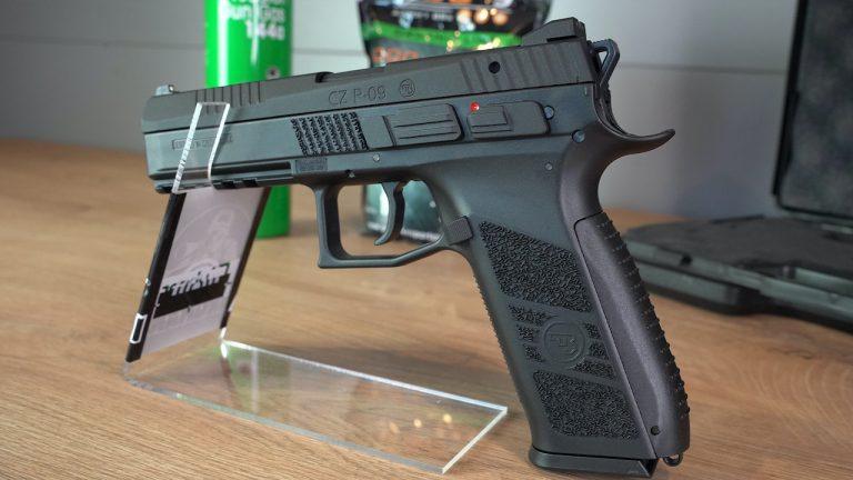 Airsoft Pistole CZ P-09 von links