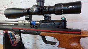 Anschütz 9015 Hunting links hinten