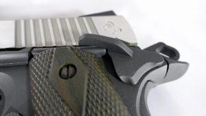 Colt 1911 Railgun flügelsicherung