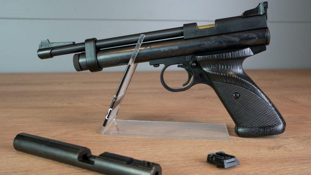 Crosman 2240 CO2 Pistole Aufnahme gesamt
