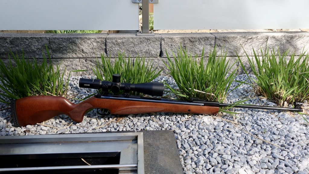 Diana 350 N-TEC Magnum Premium Aufnahme komplett mit Hawke 6-24x50 Airmax Compact Zielfernrohr