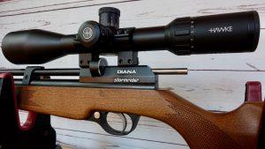 Diana Stormrider Abzug Sicherung Magazin Schaft Hawke Vantage 30 4-16x50