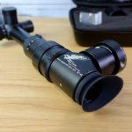 Eagle Vision Cam Side-Cam Adapter mit Hawke Airmax 6-24x50 nahaufnahme