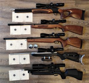 Ferrobell mehrere Gewehre