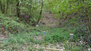 Field Target Lane 1 Wiesbaden mit Zielen