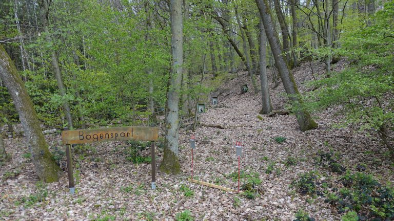 Field Target Wiesbaden Lane mit Zielen
