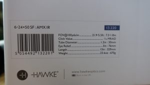 Hawke Airmax Compact 6-24x50 Technische Daten