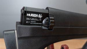Huben K1 Systemblock mit Markings