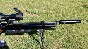 Huggett Astille auf Steyr LG110 HFT Hunting Harris Bipod