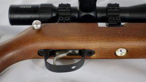 Mauser K98 PCP Diana Improved Trigger Abzug und Manometer auf Gewehrunterseite