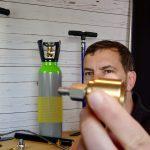 Pressluftpumpe First Strike Gehmann Pressluftflasche Adapter AirGhandi