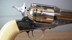 Remington Modell 1875 Trommel Nahaufnahme mit Hahn