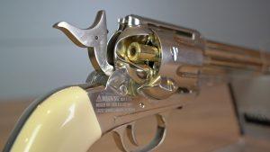 Remington Modell 1875 Trommel mit Patronenhülse