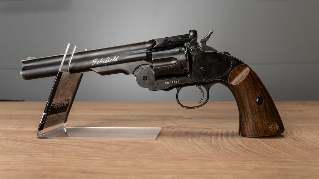 Schofield No. 3 6 Co2 Revolver Vollansicht links