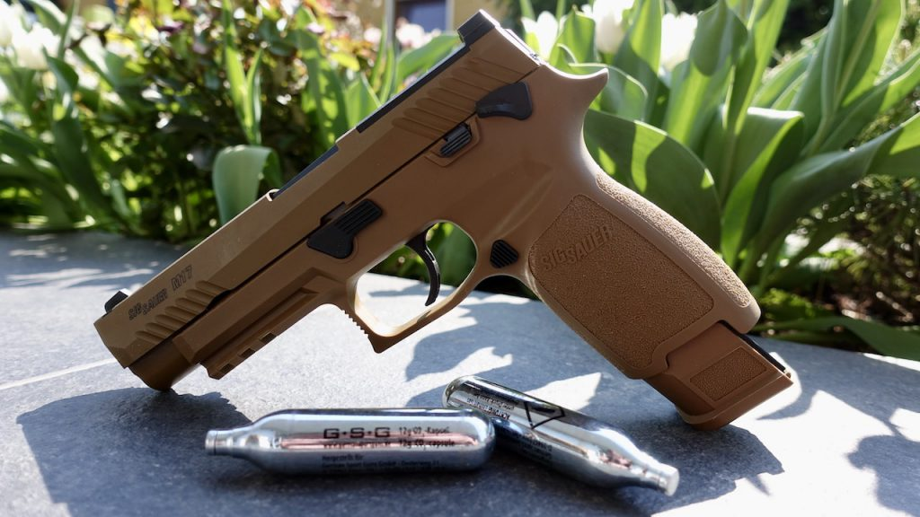 Sig Sauer ProForce P320-M17 Airsoft Pistole