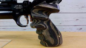 Steyr LP50RF Pistolengriff links Rink Formgriffe