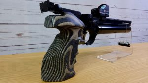 Steyr LP50RF Pistolengriff rechts hinten Rink Formgriffe