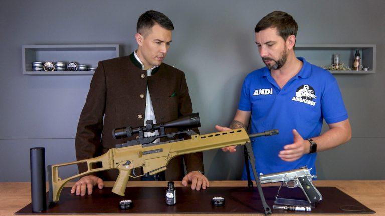 AirGhandi Waffenpflege klein