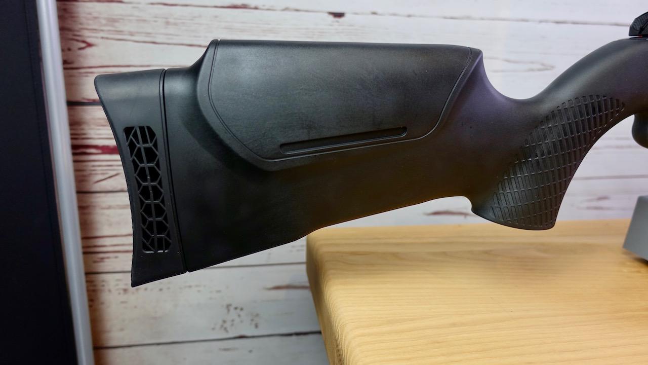 Umarex 850 M2 Schaftbacke und Schaftkappe