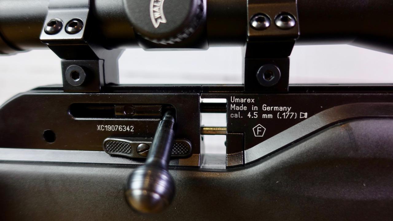 Umarex 850 M2 Repetierhebel und Magazinschacht