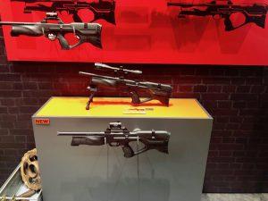Walther Reign auf der IWA 2019 3 verschiedene Modelle