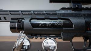 Weihrauch HW44 Kartusche mit Bezeichnung