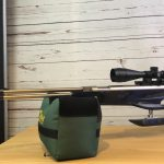 Weihrauch HW77K Waffen Schlottmann vernickelt Hawke Panorama 4-12x40 Zielfernrohr Schaft blau silber grau LP Gunstocks komplett