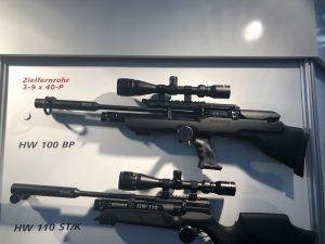 Luftgewehr Weihrauch HW100 BP Bullpup und Weihrauch HW110 ST/K