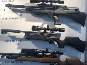 Luftgewehr Weihrauch HW110 ST/K und Luftgewehr Weihrauch HW100 BP sowie Weihrauch HW100S-FSB